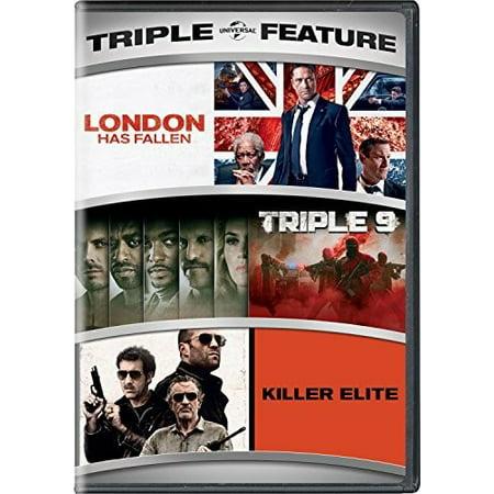 London Has Fallen / Triple 9 / Killer Elite Triple Feature (Best Trifle In London)