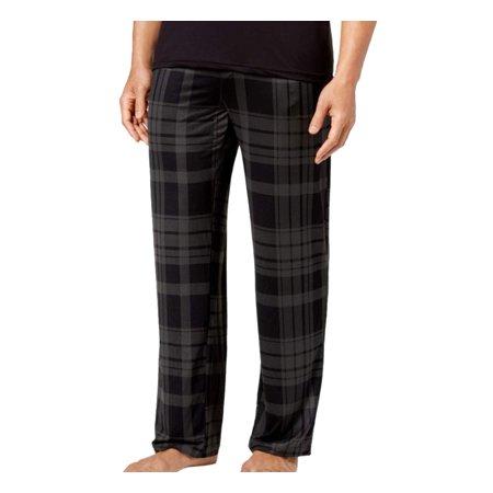 Weatherproof NEW Gray Mens Size Medium M Plaid Pajama Lounge Pants
