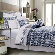 300TC Egyptian Cotton Percale Catalina Cotton 12-Piece Bedding Set