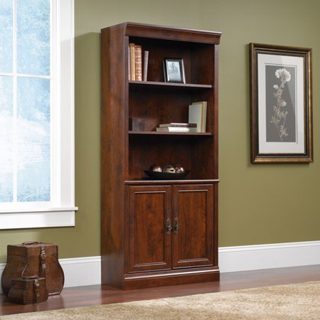 Sauder Arbor Gate Library With Doors Walmart Com