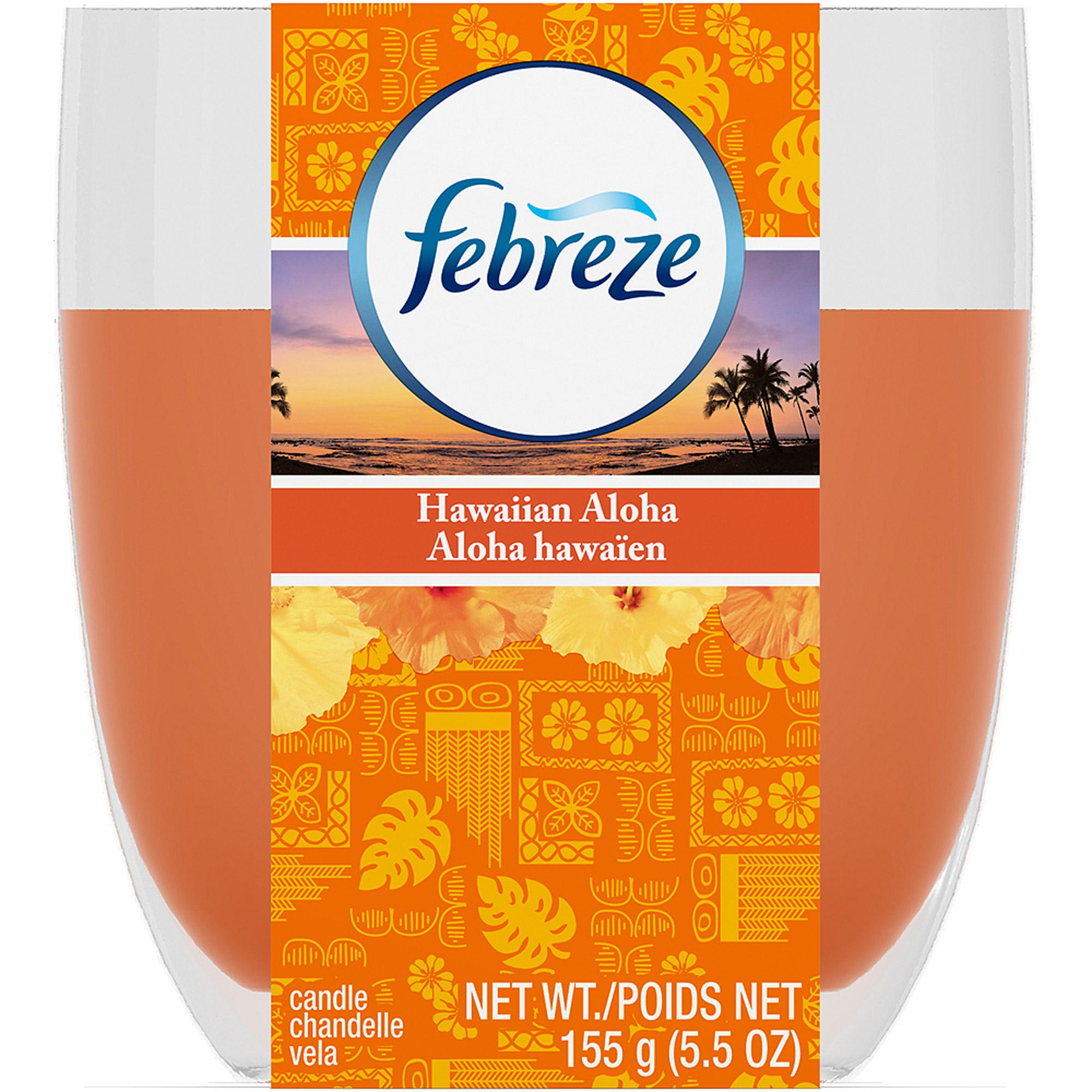 Febreze Candle Hawaiian Aloha Air Freshener (5.5 oz)