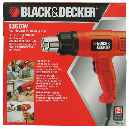Black & Decker Power Tools HG1300 Dual Temperature Heat