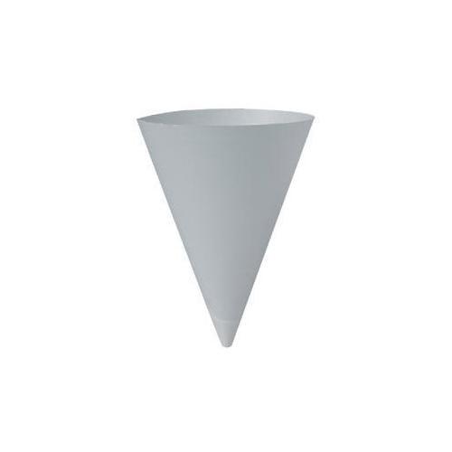 Solo Bare Treated Paper Cone Water Cups, 7 Oz., White, 250/bag SCC156BB