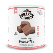 Augason Farms Chocolate Fudge Brownie Mix, 62 Oz