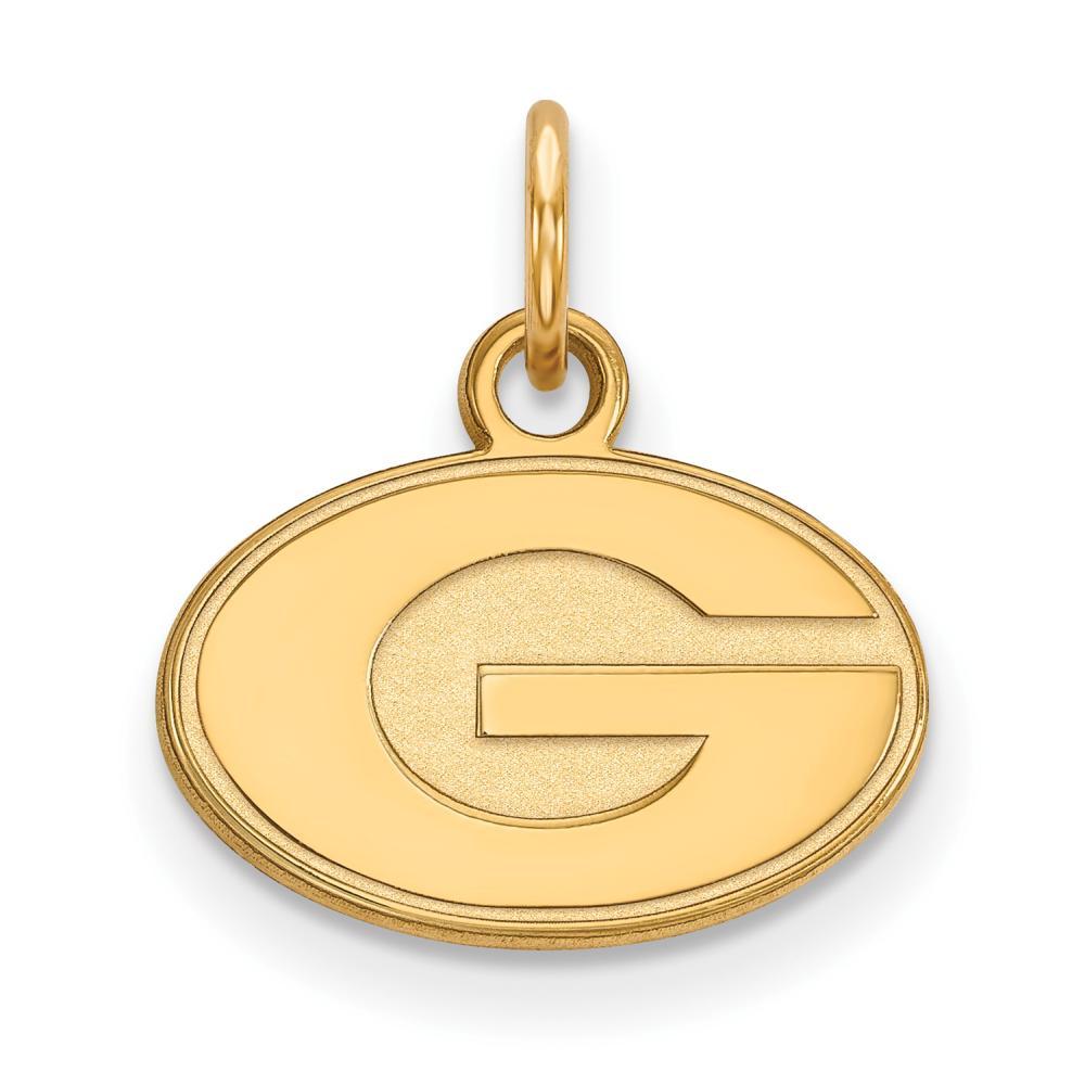 Georgia Extra Small (3/8 Inch) Pendant (14k Yellow Gold)
