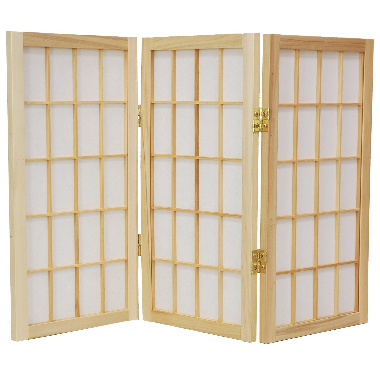 Oriental Furniture Desktop Window Pane 26.5 Inch Shoji Sc...