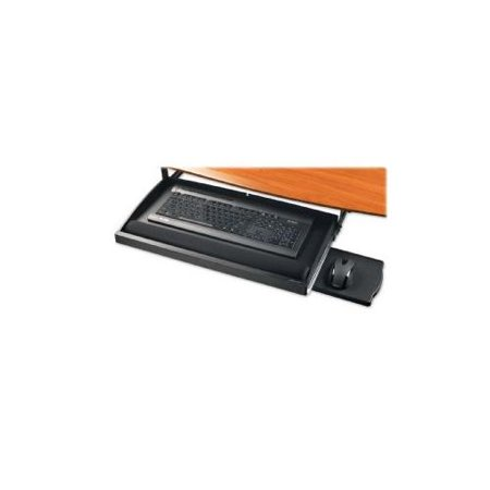 Under Desk Keyboard Tray Walmart Underdesk Keyboard Drawers 22 1 2x11 3 4 Black