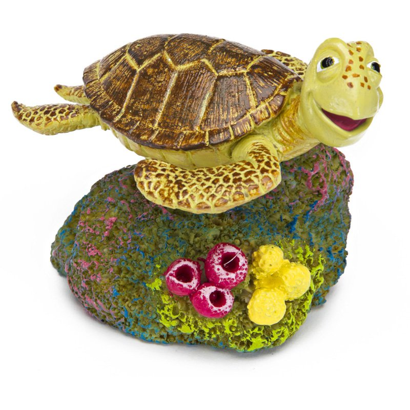 Penn Plax Finding Nemo 2 in. Crush the Turtle Aquarium Ornament