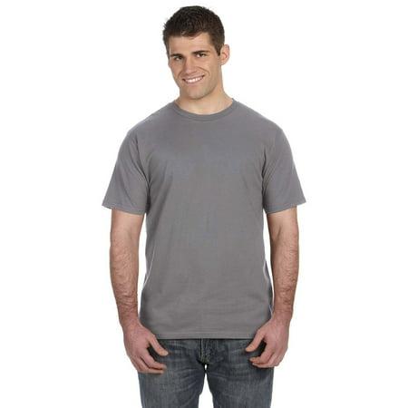 Smoke Womens Tee (Anvil 980 Lightweight T-Shirt - Storm Grey - Small)