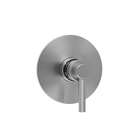 Jaclo T532-TRIM-PCH - Round Plate With Contempo Lever Trim For Thermostatic Valves (J-TH34 &