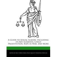 A Guide to Sexual Slavery, Including Its Key Elements, Child Prostitution, Rape in War, and More