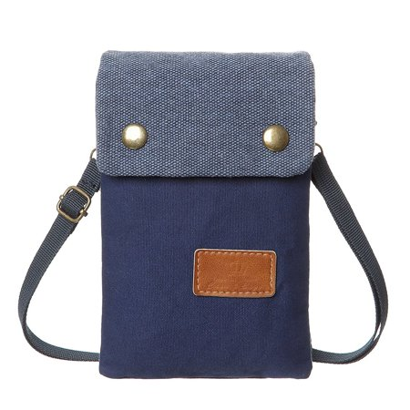 d06231ed28e1 MJEWELRYGIFT - Cell Phone Purse Wallet Colorful Canvas Women Small  Crossbody Purse Bags For Teen Girls - Walmart.com
