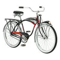 Schwinn Black Phantom Cruiser Bike, single speed, 26-inch wheels, black
