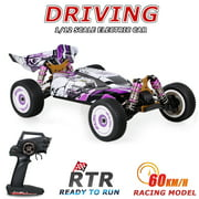 Wltoys 124019 High Speed Racing Car 60km/h 1/12 2.4GHz RC Car Off-Road Drift Car RTR 4WD Aluminum Alloy Chassis Zinc Alloy Gear for Kids and Adults in Toys