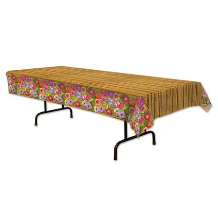 The Beistle Company Luau Tablecloth