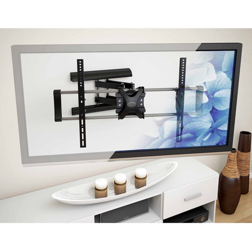 """CorLiving A-202-MPM Articulating Flat Panel Wall Mount for 42"""" - 65"""" TVs"""