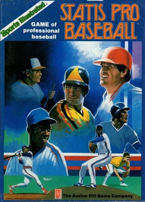 Statis Pro Baseball (1987 Edition) Lightly Used by Avalon Hill