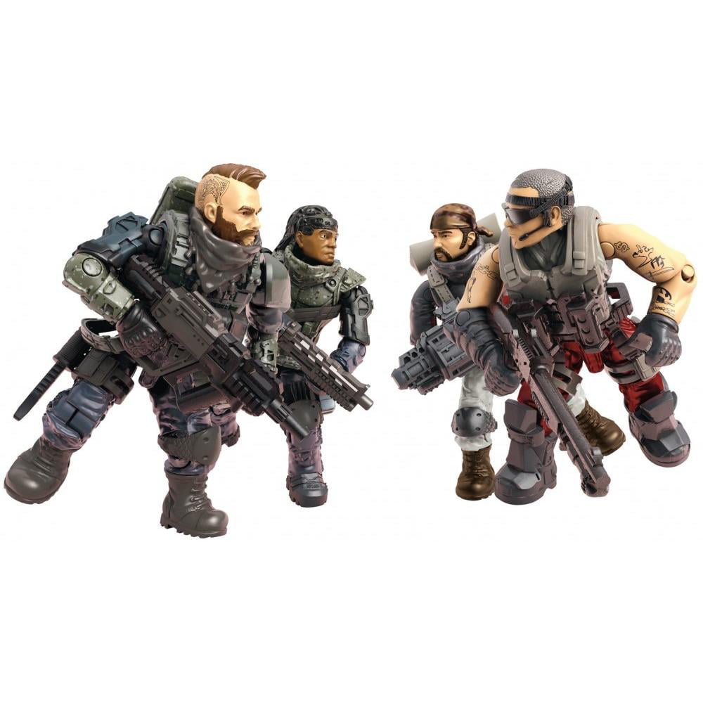 Mega Construx Call of Duty Black Ops 4-Troop Figures Pack