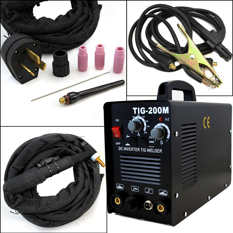 2in1 200M TIG ARC Welder 220V Aluminum Stainless Metal Copper