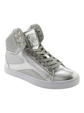 Women's Pastry Pop Tart Glitter High Top Sneaker