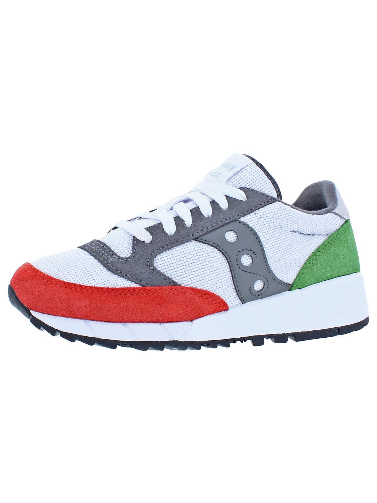 Saucony Mens Jazz '91 Retro Fashion Sneakers White 6 Medium (D)