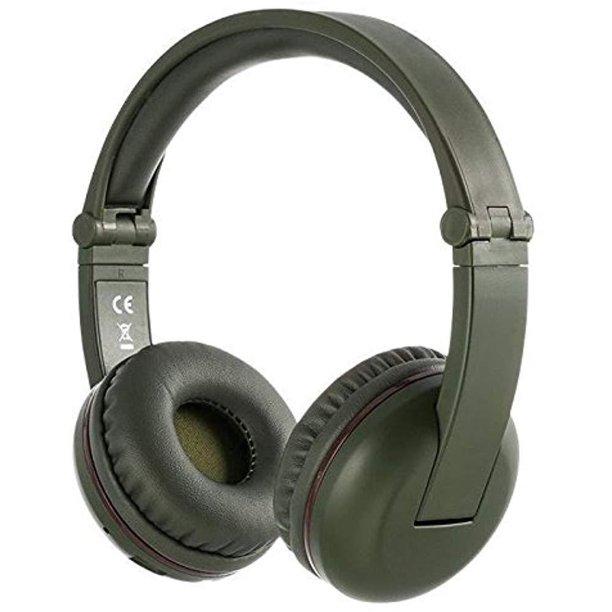 Buddyphones Wireless Bluetooth Headphones For Kids Volume Limited Foldable Amazon Green Walmart Com Walmart Com