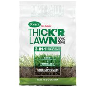 Scotts Turf Builder THICK'R Lawn Tall Fescue Mix, 12 lb., 3-in-1 Solution