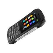 Plum Ram 6 - Cellular phone - dual-SIM - microSDHC slot - GSM - 240 x 320 pixels - TFT - RAM 64 MB - 1.3 MP - black, red