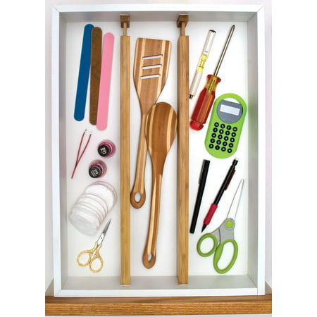 Upc 026914889609 Lipper Bamboo Custom Fit Kitchen Drawer Divider Upcitemdb Com
