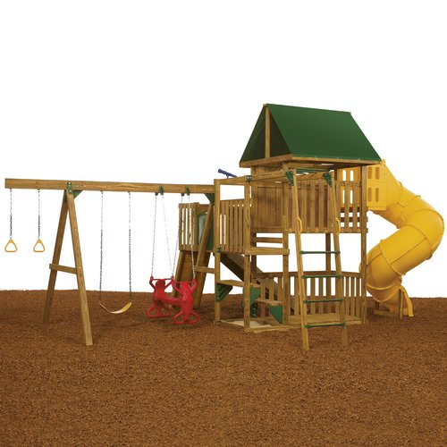 PlayStar Great Escape Ready-to-Assemble Gold Play Set
