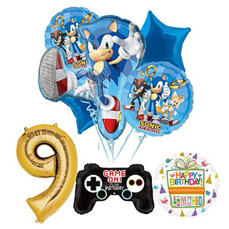The Ultimate Sonic The Hedgehog 9th Birthday Party Supplies