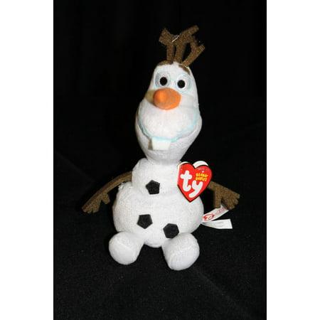 TY BEANIE BABIES Olaf the Snowman Disney Frozen Plush Stuffed Toy -  Walmart.com 6f17e6caafa