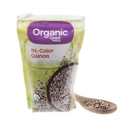 (3 Packs) Great value organic tri-color quinoa, 1lb - $0.22/lb