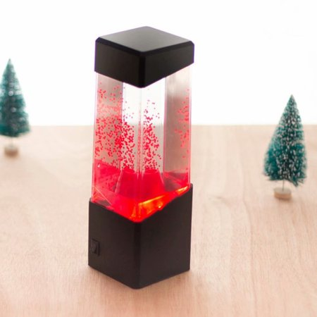 Reactionnx LED Lava Lamp Color Changing Night-Lights Mood Lamp for Home Decor Romance Relax Magic Lamp (Lamp Changing Pole)