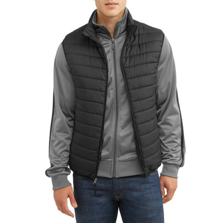 Men's Ultra Light Puffer Vest, up to size 5XL](blanc noir puffer vest)