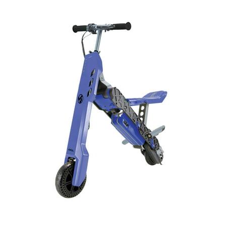 VIRO Rides Vega Transforming 2-in-1 Electric Scooter and Mini Bike (Dark Purple)