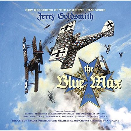 The Blue Max (New Recording of the Complete Film Score) (CD) (Halloween Film Music Score)