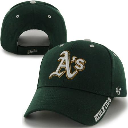Oakland Athletics  47 Brand Frost Structured Adjustable Hat - Green - OSFA  - Walmart.com 5926edc81901