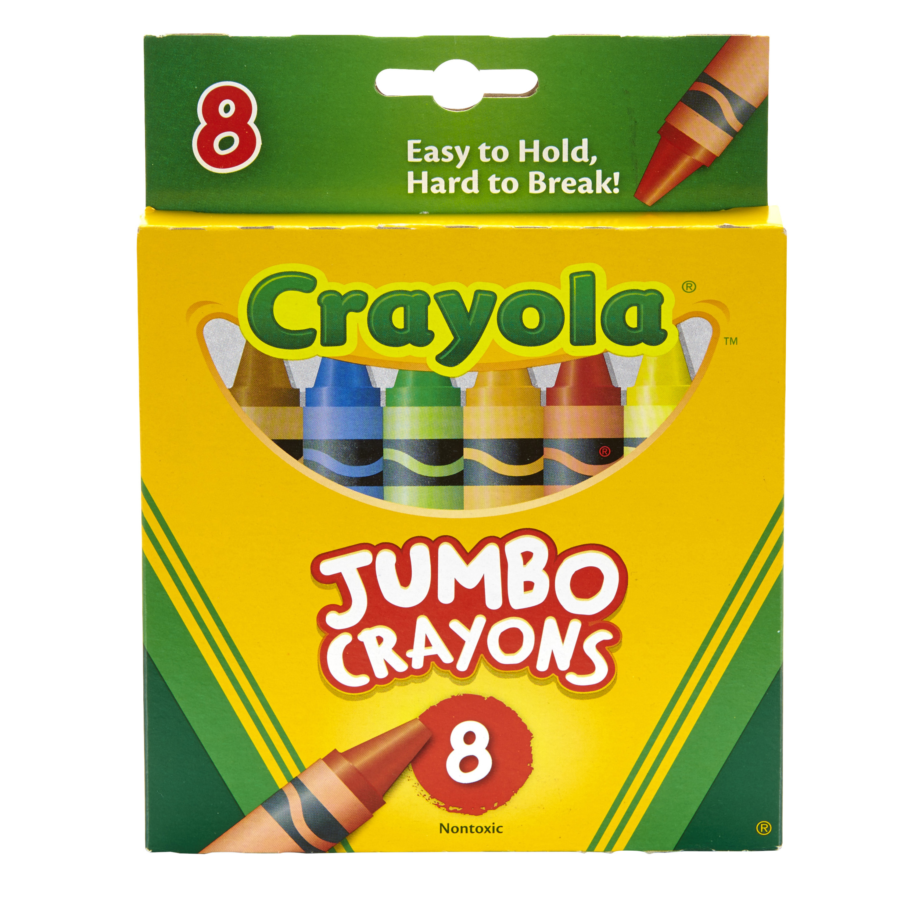 Spielzeug Puppen 24 Pack Crayola Mini Kids Jumbo Crayons Pre School Washable Bright Colours