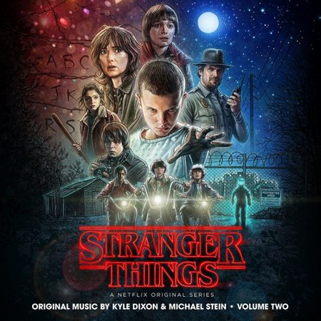 Dixon  Kyle   Stein  Michael   Stranger Things 2  Original Series Soundtrack   Cd