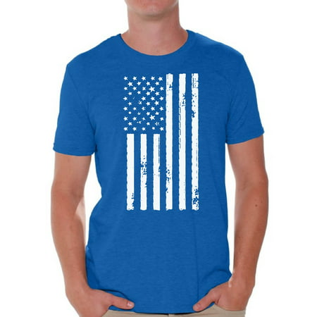 Mens Great Gatsby Outfit (Awkward Styles American Flag Shirts for Men USA Shirt Men's Patriotic Outfit USA Flag T Shirts 4th of July Tshirt Tops Independence Day Gifts USA Tee Shirts for)