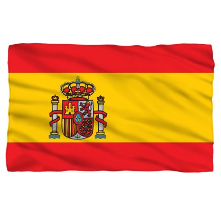 Spain Flag Fleece Blanket](Spanish Flags)