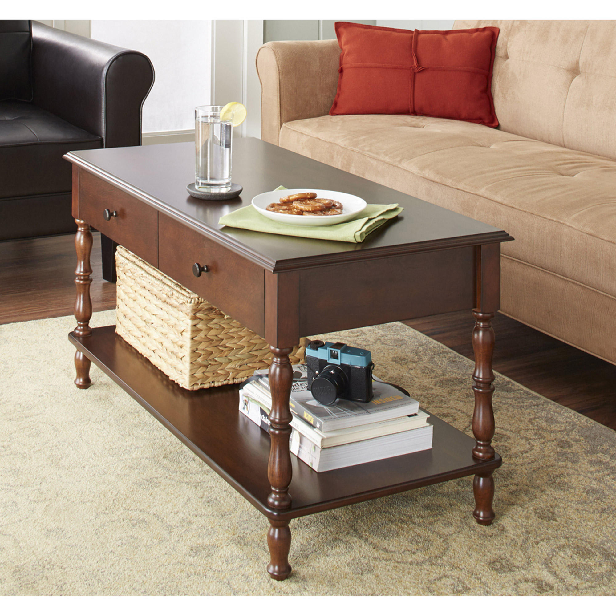 10 spring street marianna coffee table, multiple colors - walmart
