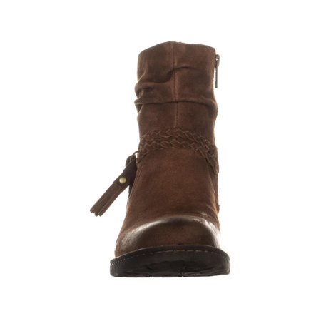 Born Ouvea Braid Ankle Boots, Rust - image 5 of 6
