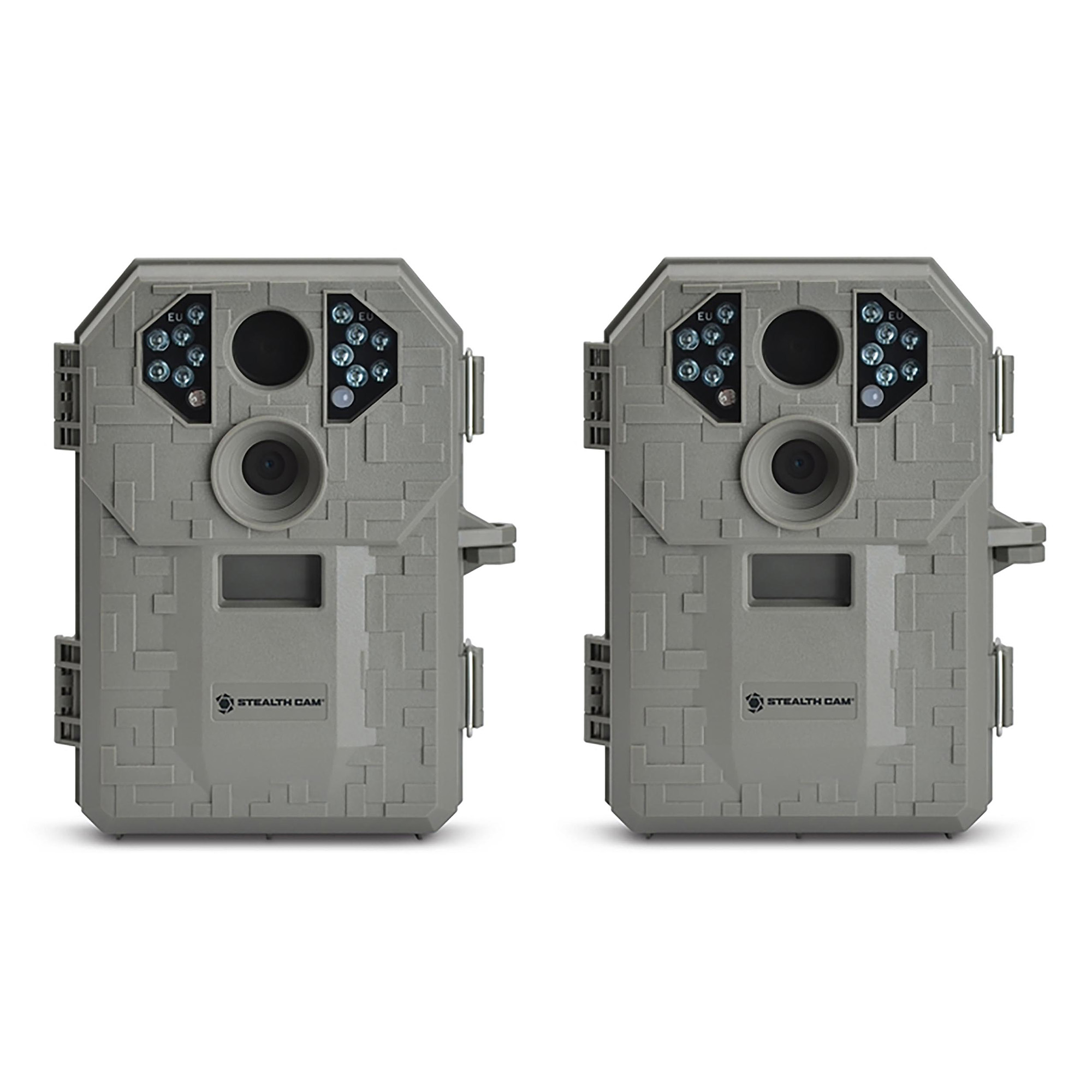 Stealth Cam P12 IR 6.0 MP Scouting Trail Hunting Game Camera with Video (2 Pack) by Stealth Cam