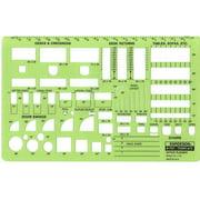 Alvin&Co 707R Template Office Planner