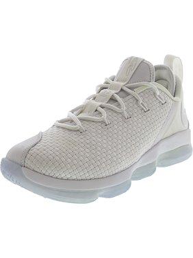 Nike Men's Lebron Xiv Low White / - Ice Ankle-High Basketball Shoe 8.5M