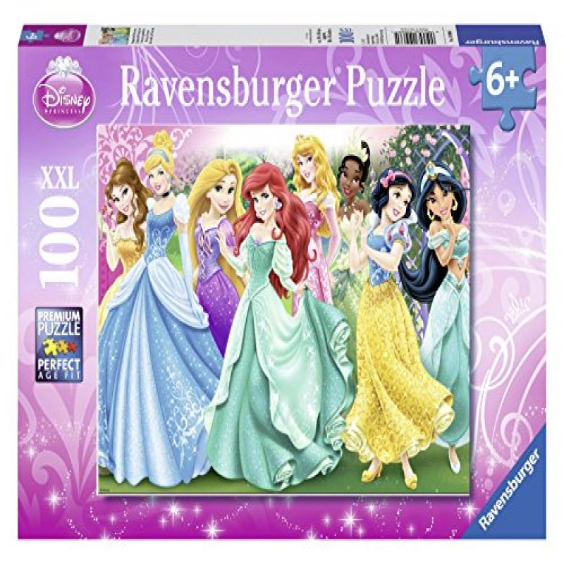 Ravensburger Disney Princess: Princess Portraits Puzzle (100 Piece) by Ravensburger