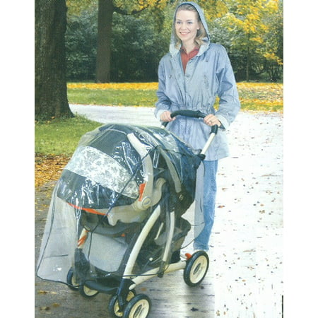 Universal Rain Cover for the 4 in 1 Travel System Stroller
