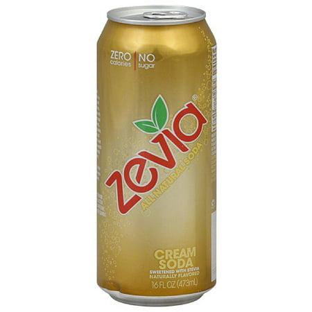 Zevia Cream Soda, 16FO (Pack of 12)